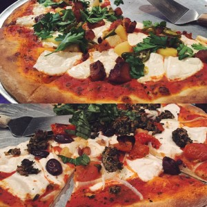 Vegan Pizza at Cafe Lemoni