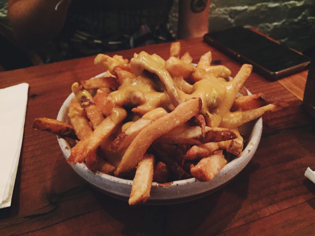 Toad Style Cheese Fries